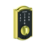 Schlage BE375 Touch Keyless Deadbolt in Camelot Trim