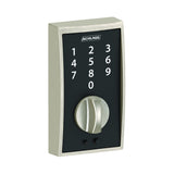 Schlage BE375 Touch Keyless Deadbolt in Century Trim