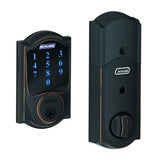 Schlage BE469 Connect Touchscreen Deadbolt in Camelot Trim