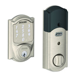 Schlage Sense Smart Deadbolt in Camelot