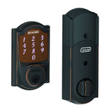 Schlage BE479 Sense Smart Deadbolt in Camelot