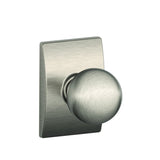 Schlage Passage F10 Orbit Knob in Century Style