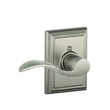 Schlage F170 Accent Dummy Lever in Addison Trim