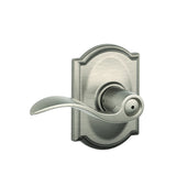 Schlage F40 Accent Privacy Lever in Camelot Trim