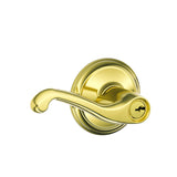 Schlage F51A Flair Entrance Lever