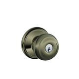 Schlage F51A Georgian Entrance Knob