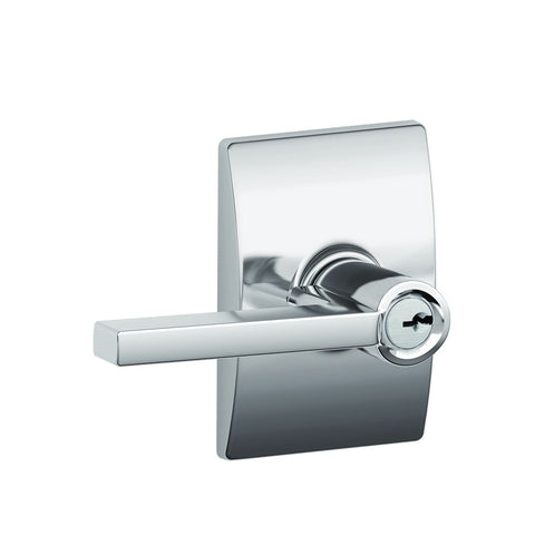 Schlage F51A Latitude Entrance Lever in Century Trim