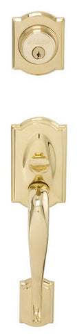 Schlage F92 Camelot Outside Dummy Gripset