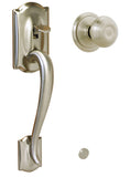 Schlage FE285 Gripset Bottom Only in Camelot Style with Accent Lever
