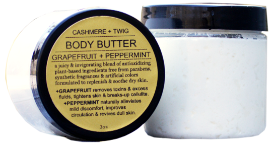 Body Butters $12 - Cashmere & Twig