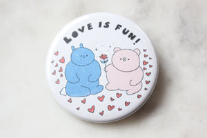 Love Is Fun Magnet
