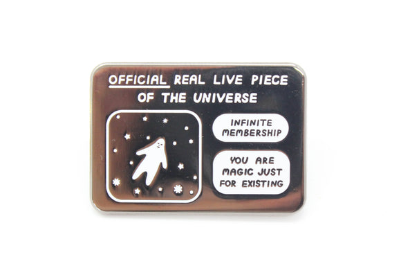 Real Life Piece of Universe Pin
