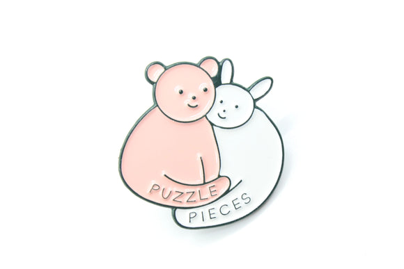 Puzzle Pieces Pin