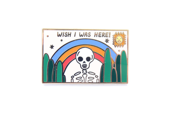 Wish I Was Here Pin