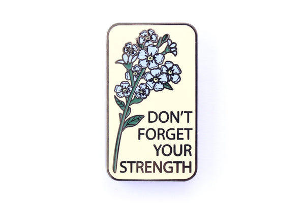 Forget Me Not Pin