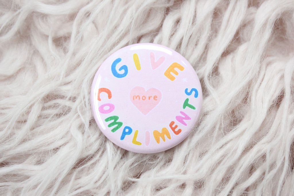 Give More Compliments Button
