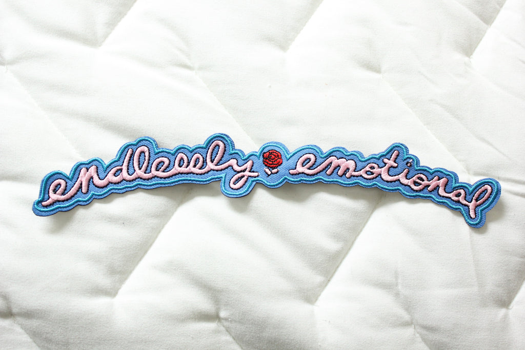 Endlessly Emotional Back Patch