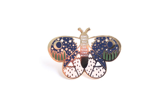 Wings Butterfly Pin