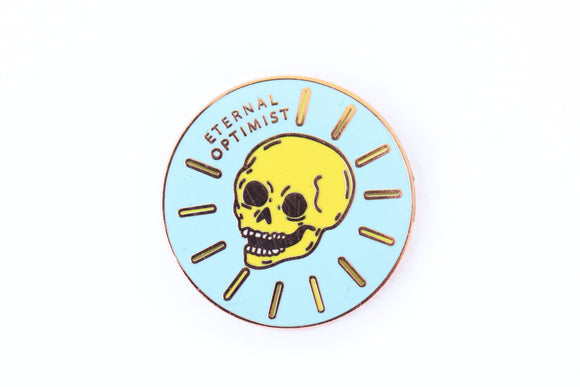 Eternal Optimist Pin