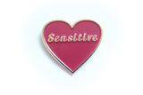 Sensitive Pin in Red
