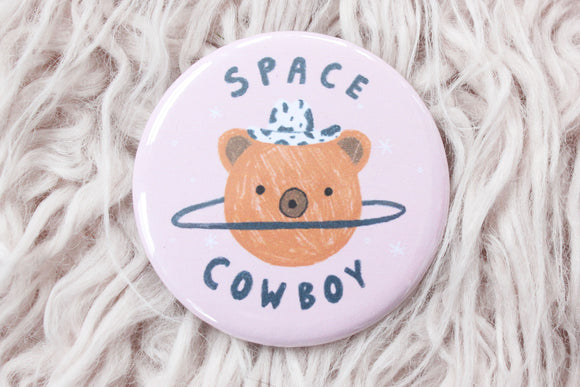 Space Cowboy Button