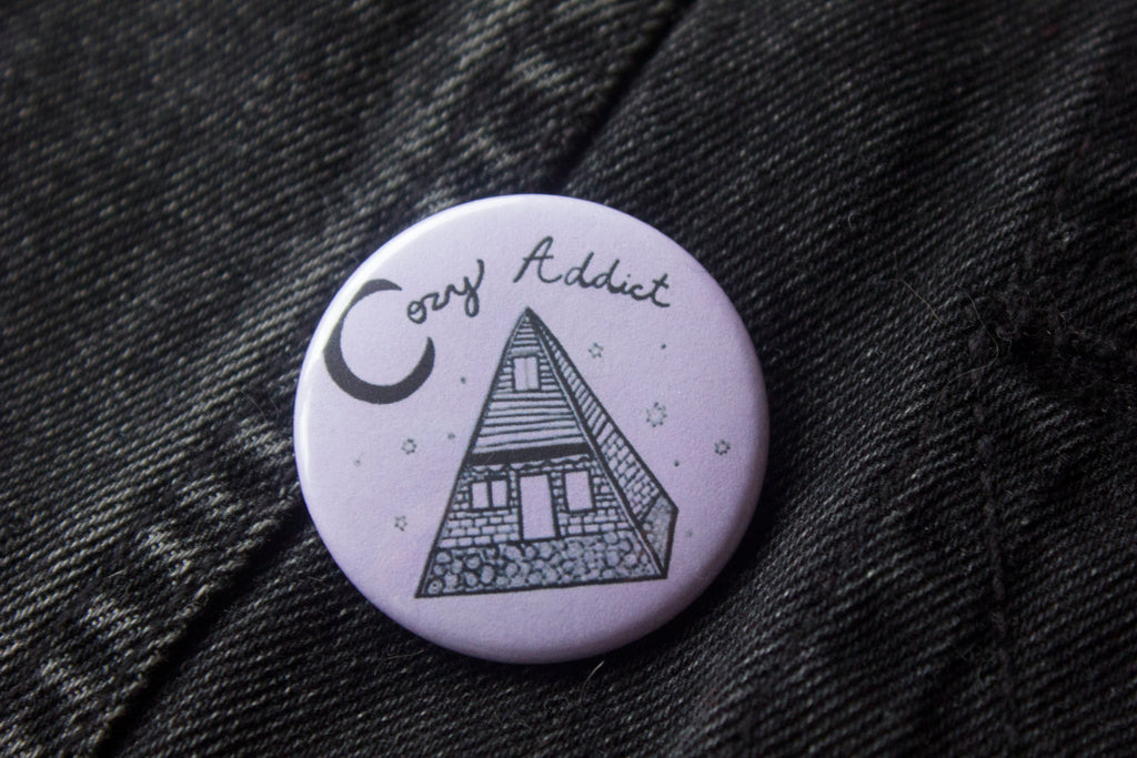 Cozy Addict Button