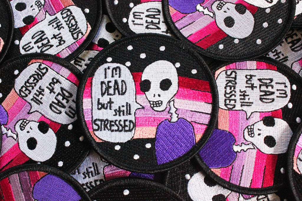 Stressed Skeleton Patch