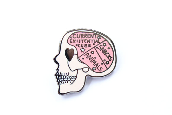Inside My Brain Pin