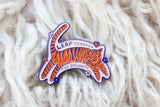 Leap Through Tiger Pin