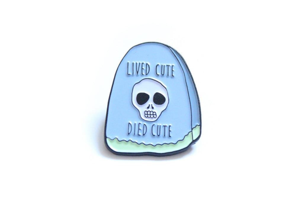 Lived Cute Died Cute in Blue