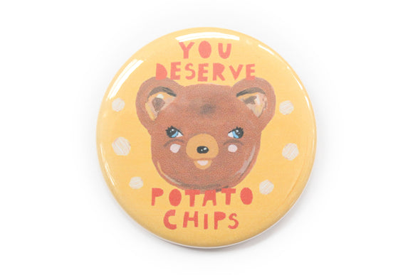 Potato Chips Bear Magnet