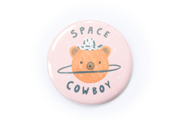 Space Cowboy Magnet