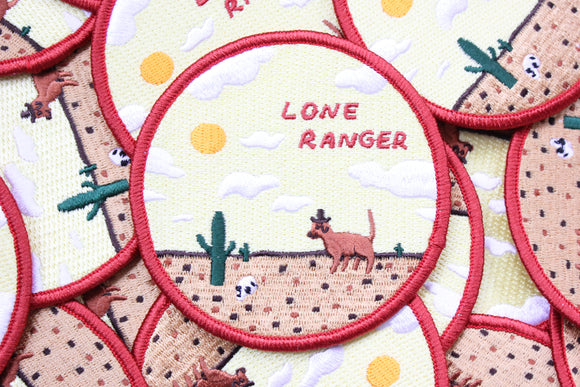 Lone Ranger Patch