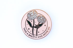 Take A Breath Pin