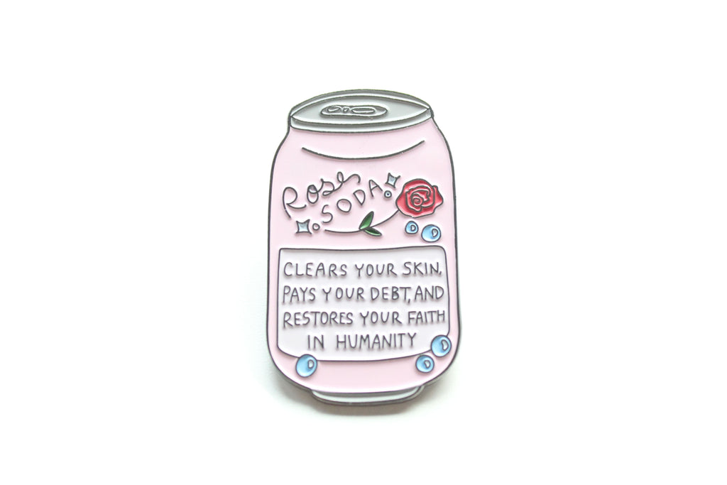 Rose Soda Pin