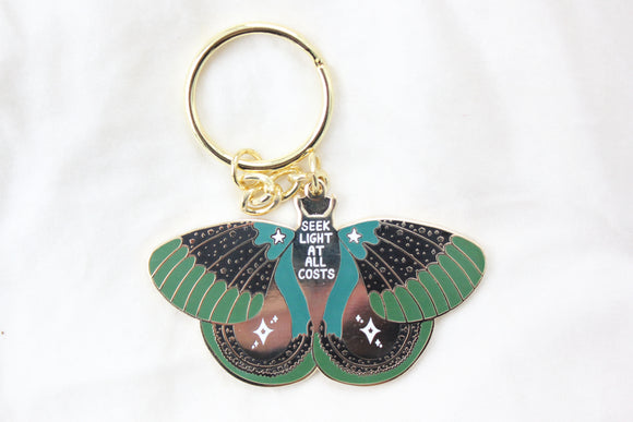 Seek Light Keychain Green