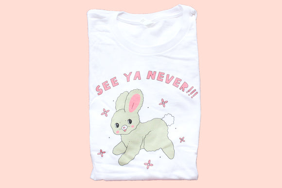 See Ya Never Bunny Tee - Mistake Edition