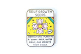 Self Growth Seeds Pin
