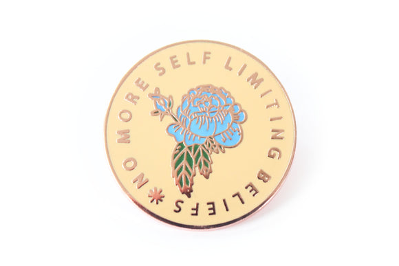 No More Self Limiting Beliefs Pin