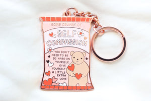 Self Compassion Keychain