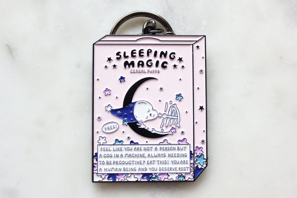 Sleeping Magic Keychain