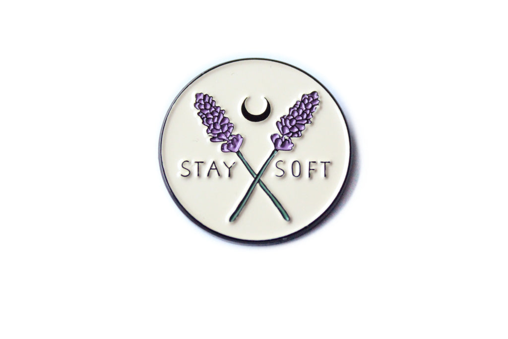 Stay Soft Pin