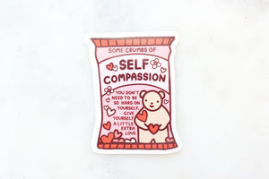 Self Compassion Sticker