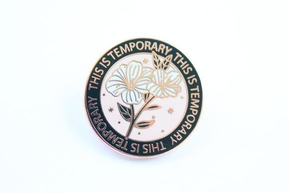 This Is Temporary Pin