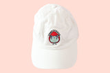 Unbothered Strawberry Frog Hat