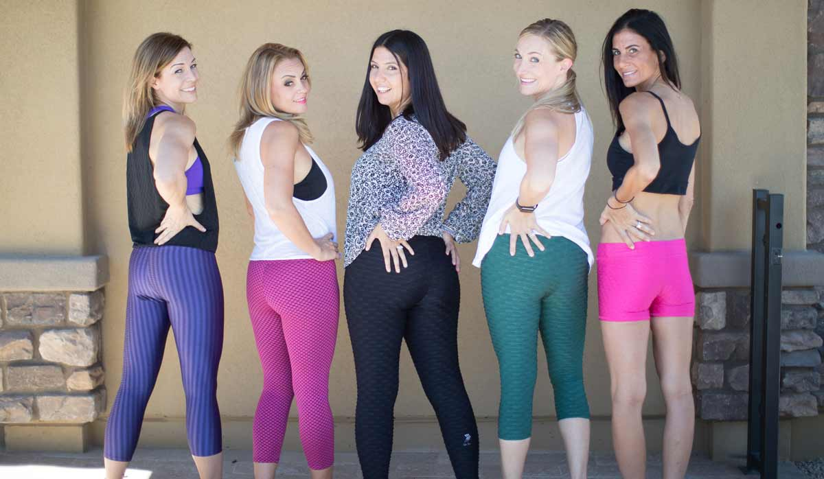 Athleisure pants models