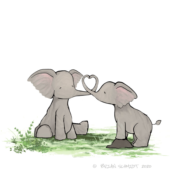 Elephant - Heart Trunk