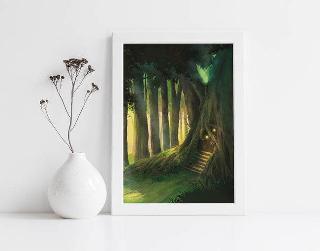 Fairy House Art Print
