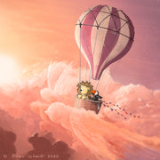 Lion and Toucan - Hot Air Balloon Adventure