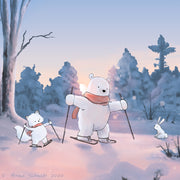 Arctic Animals - Snowshoeing